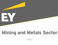 EY Mining & Metals iPad App