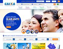 CAIXA - Redesign do site