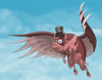 Nelson the Flying Pig