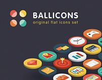 Ballicons — original flat icons