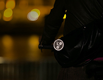 Luminoconcrete - pins for cyclers