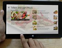Windows 8 Recipe App Concept