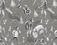 Wintery Magic Pattern