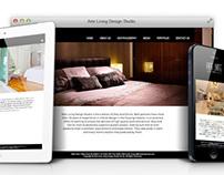 Arte Living Design Studio - Responsive Website