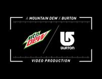 Peace Pipe - Mtn Dew / Burton Snowboards