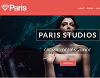 Paris - Responsive HTML5 Template