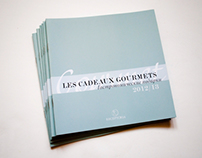 Booklet for gourmet boutique