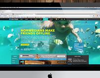 Norwegian Cruise Line Interactive Ad