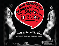 NAU Theatre Season Brochure 2013-14