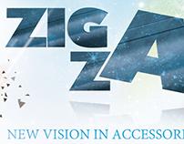 """ Zig Zag "" banner"