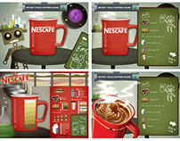 Interactive Website for Nescafe