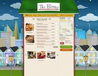 The Bistro - Web Design