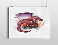 Dragon Concept Illustration