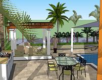 Landscape Design( The Villas)