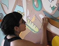 """Mural """"La Deliciosísima Trinidad"""