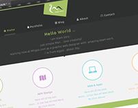 Personal WordPress Theme