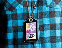 ID Price-tag necklace