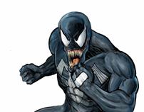 Venom - Digital Art.