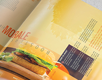 Distorted Perspective  |  Magazine Layout