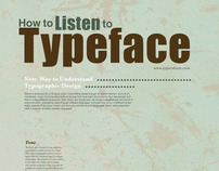 Typography Process Poster