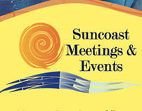 Suncoast Meetings & Events Rebrand & Collateral