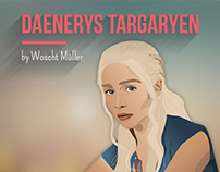 Daenerys Targaryen - Illustration, Digital Painting