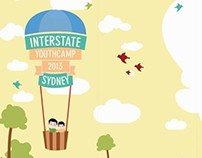 Interstate Youth camp 2013 - sydney Poster and brochure