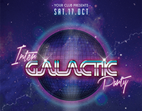 Inter Galactic Party /// PSD Template