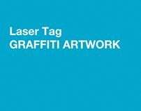 Laser Tag Graffiti Artwork