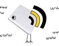 Bird-Laptop
