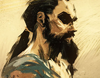 Game of Thrones - Khal Drogo (Rough Sketch)