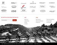 Cycling e-commerce Website
