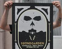 Soundgarden Silkscreen Poster