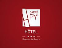 Carré Py' Hôtel identity & webdesign