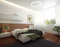 Private Villa Typical Bedroom