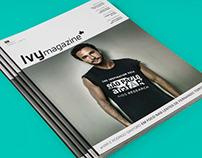 Edição 03 Ivy Magazine - Rodrigo Santoro e AmFar.
