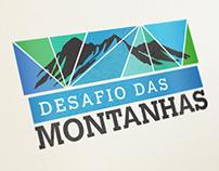 Desafio das Montanhas - Mountain Logo