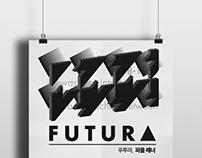 ART POSTER : FUTURA, DIN