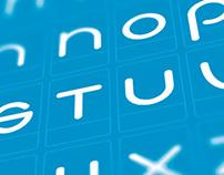 Custom BlueVerve Font