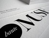 HauteMuse Fashion magazine identity concept / 2011