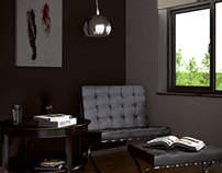 The Architecture Academy - Simple Lounge Room