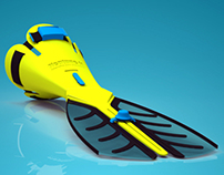 Swimming Aid for Amputee
