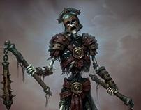 Skeletons for Godsand game