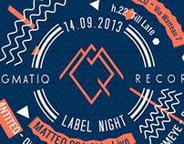 MagmatiQ Records - LABEL NIGHT 2013