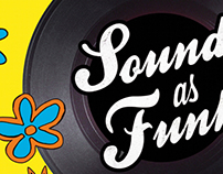 Sound as Funk - Spring Party Poster