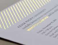 Identity and advertising collateral for an exhibition