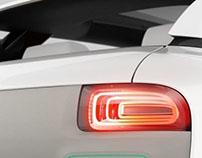 Lamp Design for the Citroen Cactus 2013