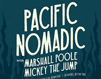 Pacific Nomadic Concert Poster