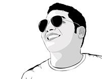 """Cartoonize your photo """" ME """" XD"""