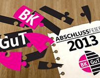 Einladung Abschlussfeier 2013